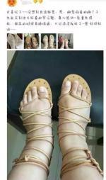 买家也知道只是鞋子好看