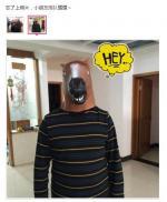马头面具买家秀好呆萌
